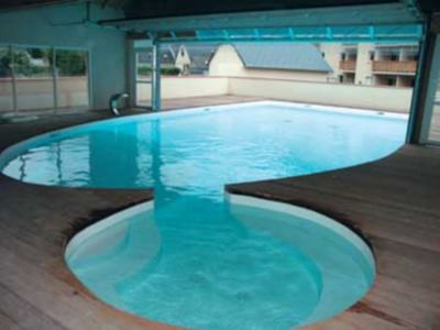 Photo for Lovely apartment T2 - mountain view - heated pool -wifi
