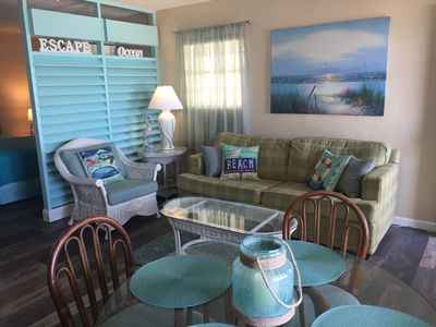 Photo for ULTIMATE BEACH GETAWAY-GULF VILLAGE, DIRECT VIEW OF THE GULF, Sleeps 4.