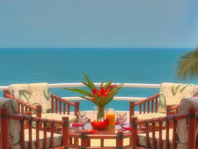 Photo for CASA REBECCA - Luxury Oceanfront Vacation Rental Penthouse With Panoramic View