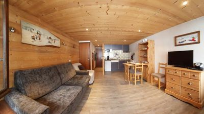 Photo for Studio 3 * with wifi, 400 m from the slopes of Grand Bornand