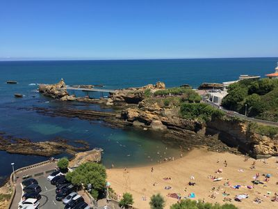 Photo for MAGNIFICENT OCEAN VIEW BIARRITZ