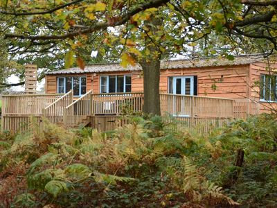 Photo for A large unique woodside lodge in dimmingsdale on the edge of the peak district.