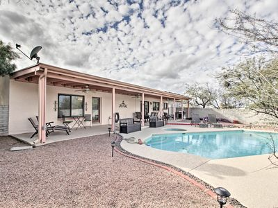 Photo for NEW! Casa De Rancho Feliz - Private Pool, Mtn View