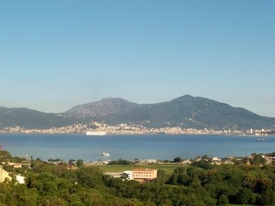 Photo for proticcio studio 2 pers. sea ​​view terrace, ressidence with pool near beaches