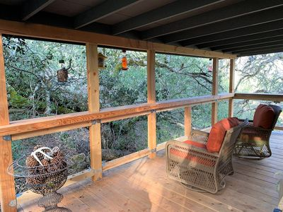 Photo for Tall Timbers Treehouse On 25 Acres