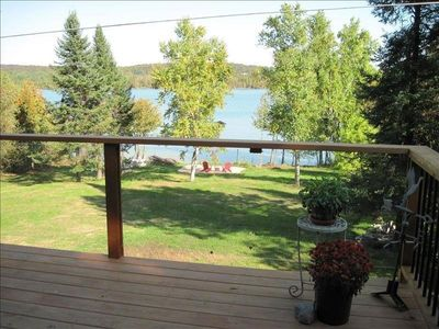 Photo for Lake Leelanau Waterfront With Dock and Panoramic Views.  Close to Everything!