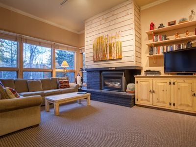 Photo for Tranquil Creekside Condo w/Beautiful Sun Deck,Fire Pit & Hot Tubs-Steps from Mtn