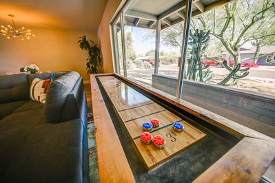 Shuffleboard with your mates