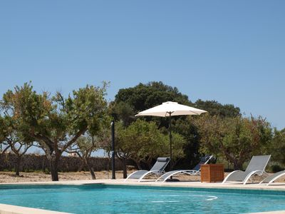 Photo for Finca, 6 pers., Saltwater pool, private location, WIFI, foresight