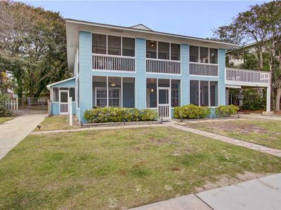 Photo for Dog friendly second floor condo is across the street from a beach access!