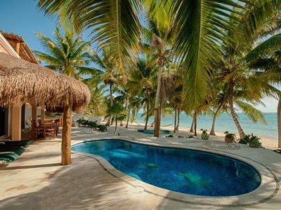 Photo for Casa Rosa - Crystal Sand Exquisite Beach & Idyllic Pool
