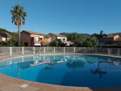 Photo for rental of a Mazet in residence with pool for 4/6 sleeps in Le Lavandou