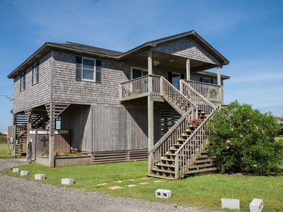 Photo for Austin's Pointe is just a short walk to the beach. Ocean and sound views.