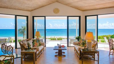 Welcome to Surf Song. Perched on the beach with fabulous views of the Atlantic.