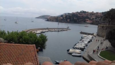 Photo for Beautiful apartment in Collioure with views of Chateau Vauban and Sea