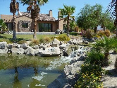 Photo for 3600 sf TUSCANY ESTATE WITH CASITA, VIEWING LAKE WITH  FLOWING  WATER CREEK!!