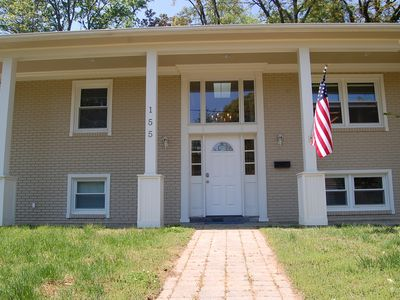 Photo for This beautiful home is in the perfect location whether you're here for Commissioning Week or to relax.