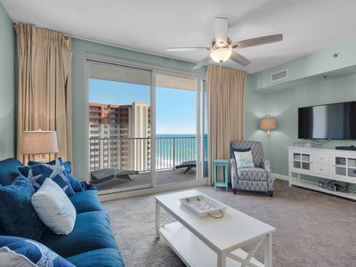 Photo for NEW LISTING! Gulf Front 1 Bedroom with No Amenity Fees! Free WiFI and Free Ticket to Gulf World!
