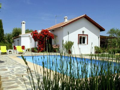 Photo for Detached rural holiday house with private swimming pool and garden