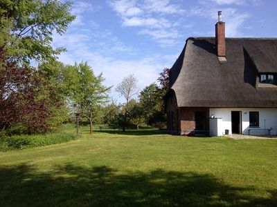 Photo for Thatched cottage surrounded by nature and in 15 minutes at the sandy Baltic Sea beach