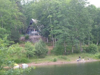 Photo for house discreet nature cottage quiet and quiet pool lake fishing