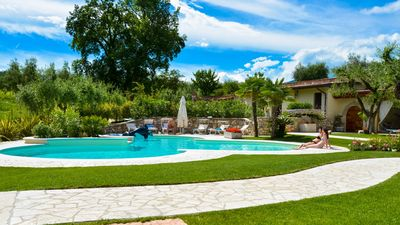 Photo for VILLA MARIO Garda Lake Salò Italy --Luxury, Privacy, Relax--