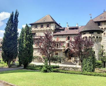 Photo for The charm of a castle on Lake Geneva