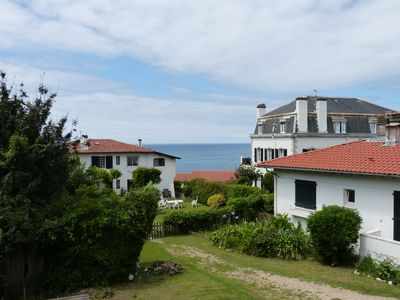 Photo for apartment in the village of Guethary calm, bright and sea view