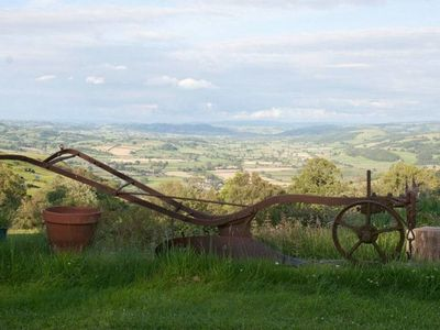 Photo for The Granary is a rural retreat with cosy wood burner and spectacular views.