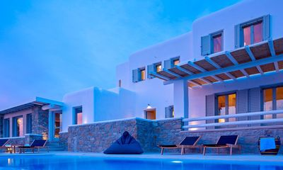 Photo for Spacious Villa in Mykonos Houlakia  Private Pool   Sleeps 6   3 Beds   2 Baths