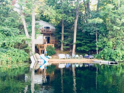Photo for Traverse Area Family Cottage on Sanford Lake near Sleeping Bear Dunes