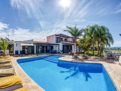 Photo for Stunning 6 bed villa with private heated pool and stunning views