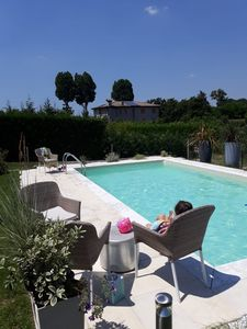 Photo for RESIDENCE WITH PRIVATE POOL comfortable in Venice