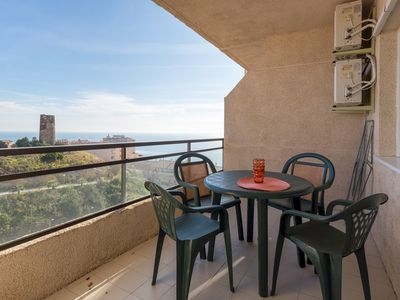 Photo for Spacious Views Coloso apartment in Mijas with WiFi, air conditioning & private terrace.