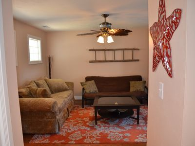 Photo for Dog-Friendly, North End Oceanside, Walk thru Canopy of Trees to Beach!