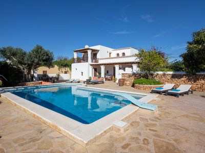 Photo for Cosy Finca with Pool, Tennis Court and Football Field - Can Gat Ibiza