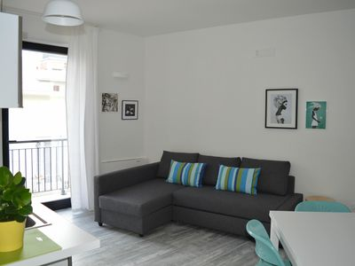 Photo for Refined and modern apartment in the center of Polignano a Mare