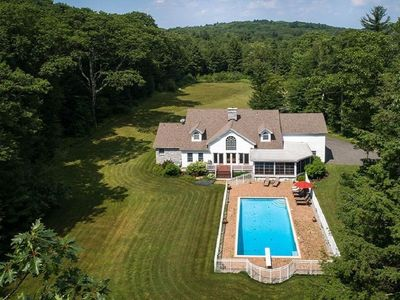 Photo for Best vacation home in Berkshires:  SUMMER & 3 other seasons 1, 2 or 3 families