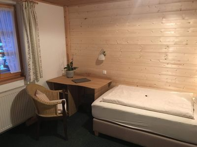 Photo for Single room (No. 6, from 7 nights) - Pension Zum Kirchenbauer