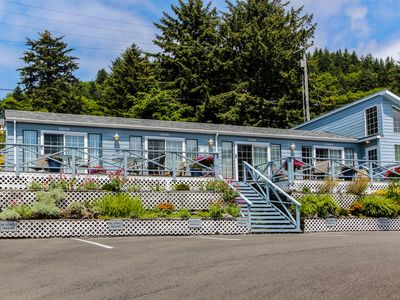 Photo for Boutique dog-friendly oceanview motel with space for 22!