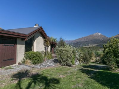 Photo for Strawbale Cabin on 5 acres ... Stunning Lake & Mtn Views!