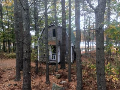 Photo for Charming, peaceful 1 bedroom cottage with a serene waterfront view