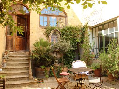 Photo for Apartment in an Amazing Historic House, Set in the Heart of Provence