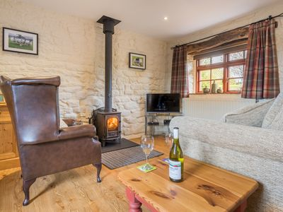 Photo for Hazelrigg Cottage, single story former milking parlour, pet friendly