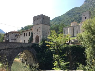 Photo for The House on the Bridge - San Vittore - Frasassi