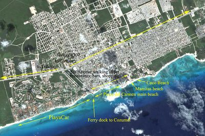 Playacar Phase ll Penthouse in with Private Rooftop Deck & Reef Club Access inc.