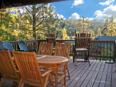 Photo for Authentic big bear cabin, WiFi, Dogs ok. Close to lake/village