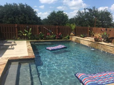 Photo for Beautiful 4 Bedroom House With Incredible Pool And Backyard