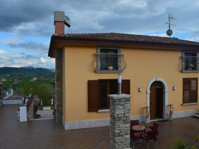 Photo for Rooms with private bathroom in beautiful b & b near the center, enchanting panorama