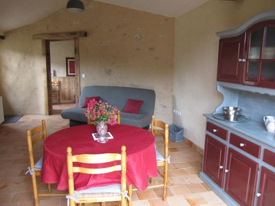 Photo for Nice little character cottage, ideally situated between Futuroscope and Puy du Fou